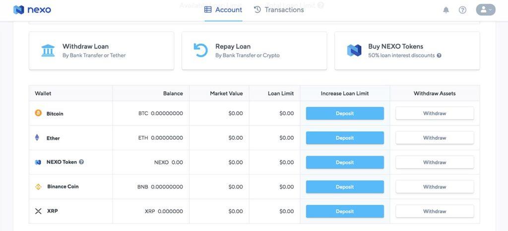 Top 3 plataformas de préstamo criptográfico para pagos en efectivo casi instantáneos Nexo