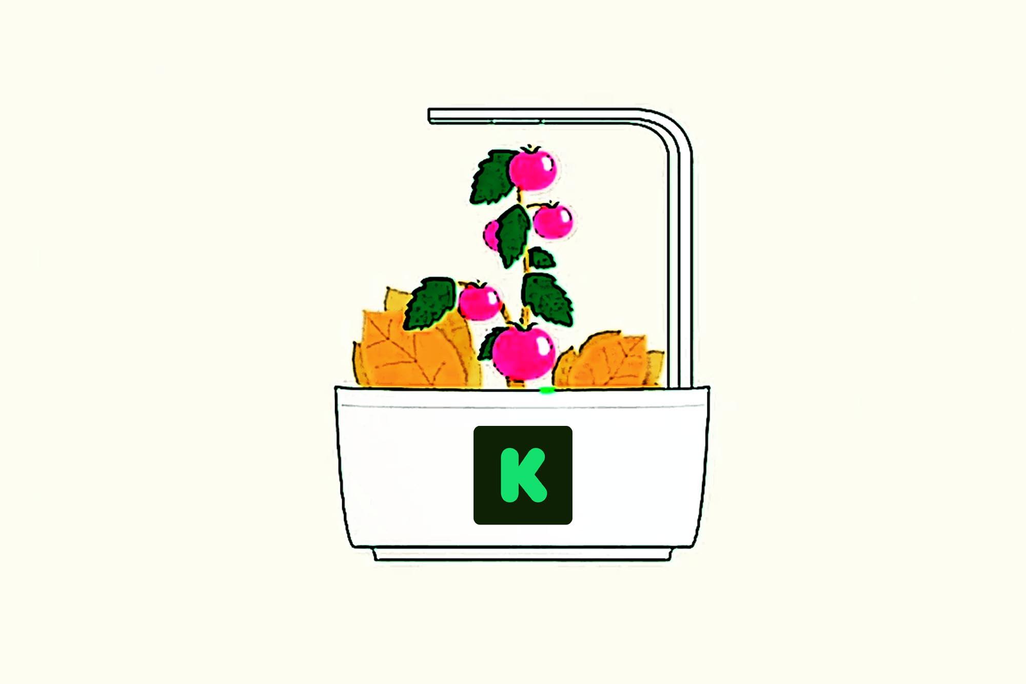 Kickstarter para ayudarle a cultivar alimentos frescos