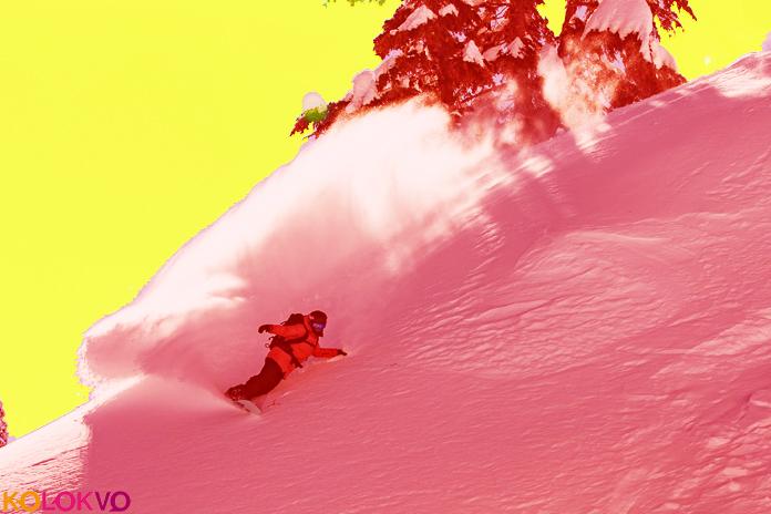 Como montar en polvo El mágico mundo del Snowboard