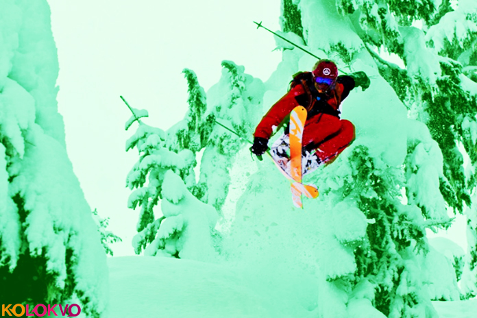 Hot Dogging Free ski