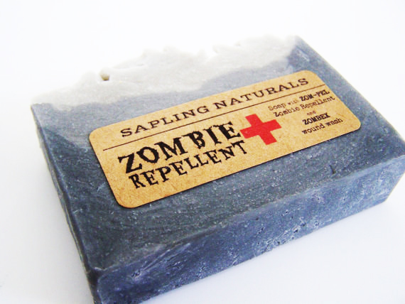 Jabón anti-zombis