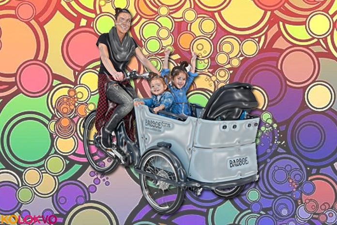 Las bicicletas antiguas se consideran una nueva minivan familiar