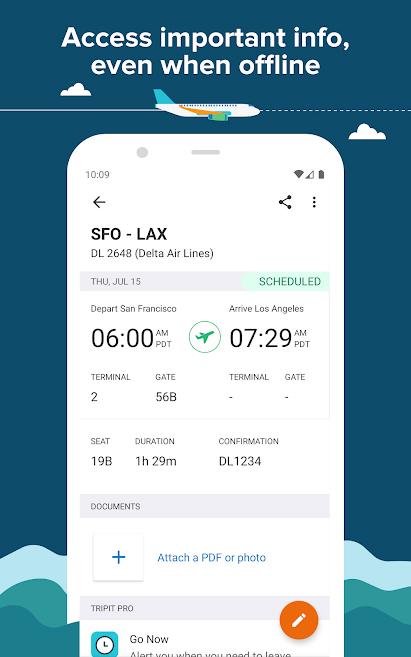 TripIt está disponible tanto para plataformas iOS como para Android