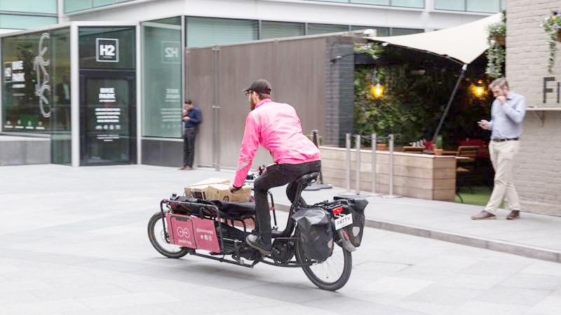 bicicletas de carga para sus clientes en España
