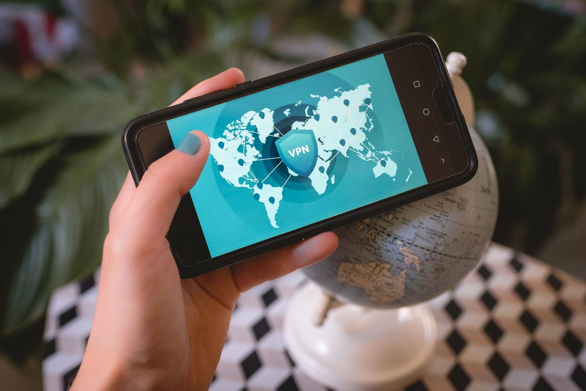 Utilice una VPN mientras viaja
